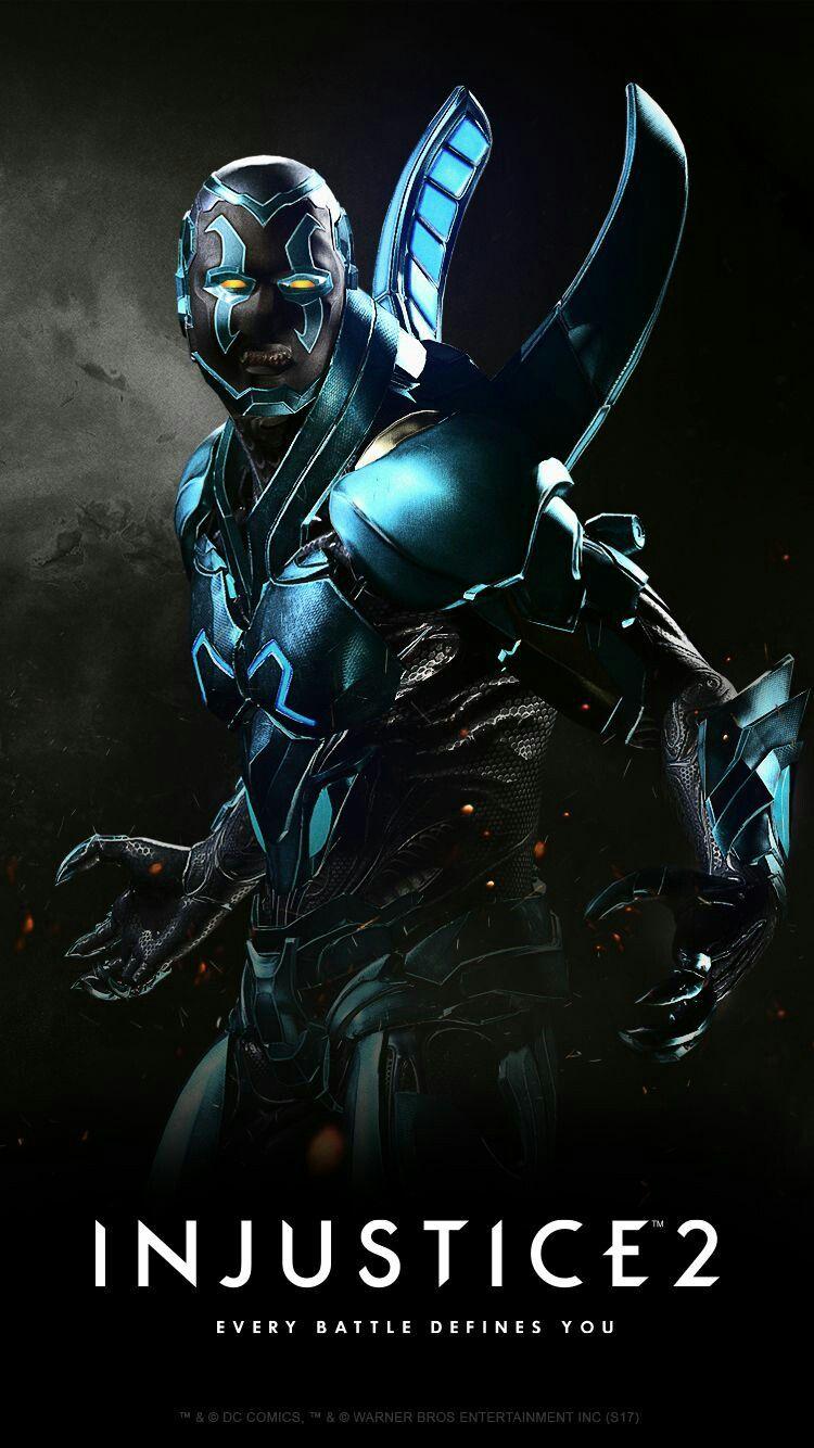 Blue Beetle Blue Beetle Injustice 2 Characters Dc Comics Heroes