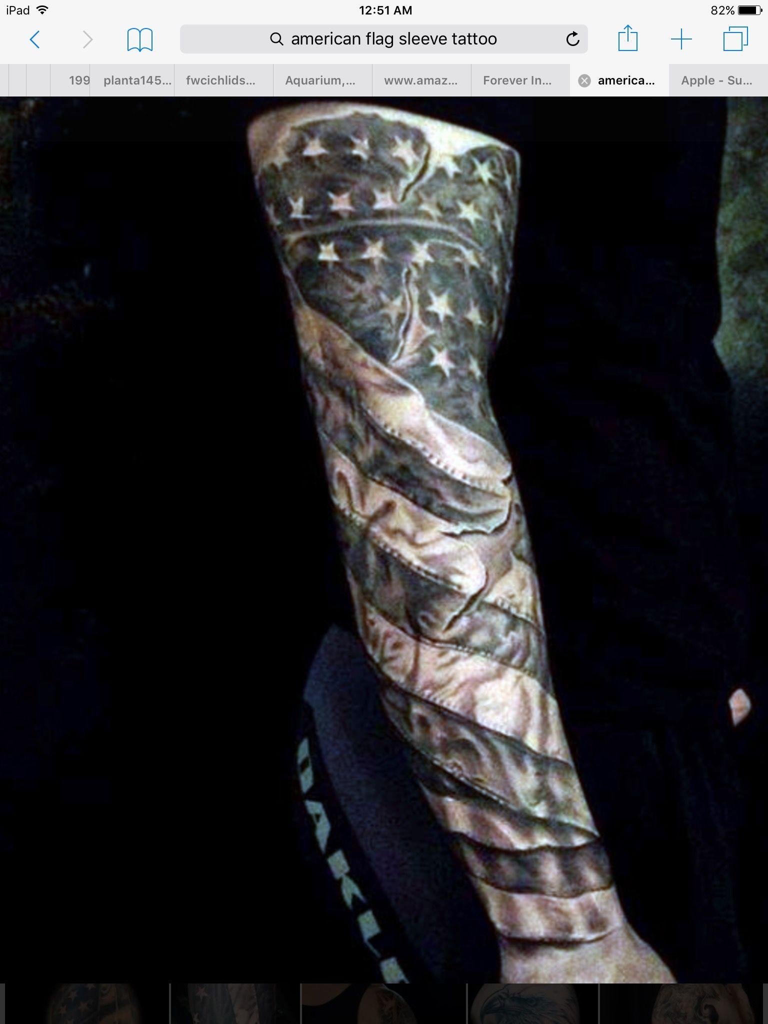 American flag reference tattoos for guys full sleeve