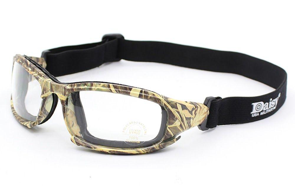 823fcd214b Hot Offer Transition Photochromic Polarized Daisy X7 Military Goggles Army  Sunglasses 4 Lens Kit War Game