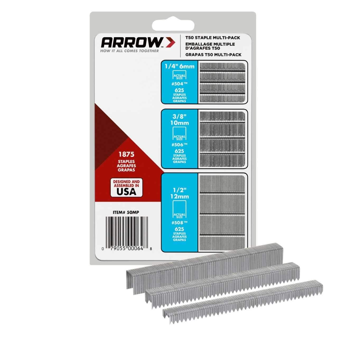 Arrow T50 Staples 50mp 3 Pack Ad Staples Sponsored Arrow Pack Mp With Images Multi