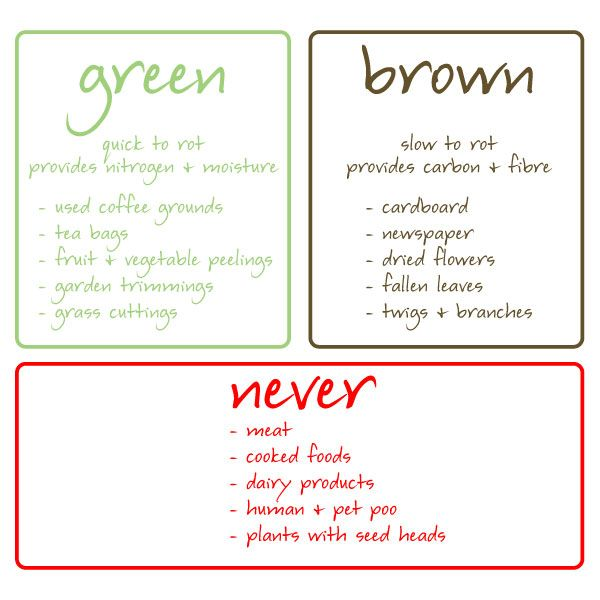 What To Put In A Compost Bin The Website Also Had Info On How