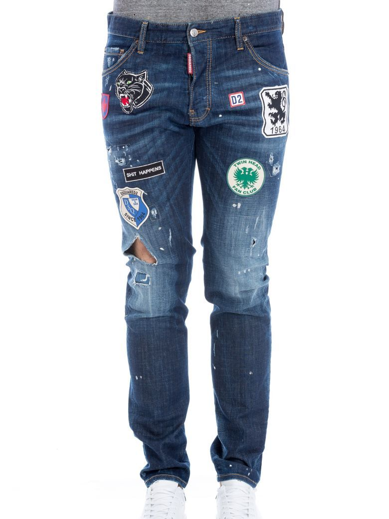 DSQUARED2 Dsquared Cool Guy Patch Jeans.  dsquared2  cloth ... 5a07cba8814e