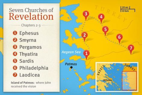Seven Churches Of Revelation Interesting New Article On Life