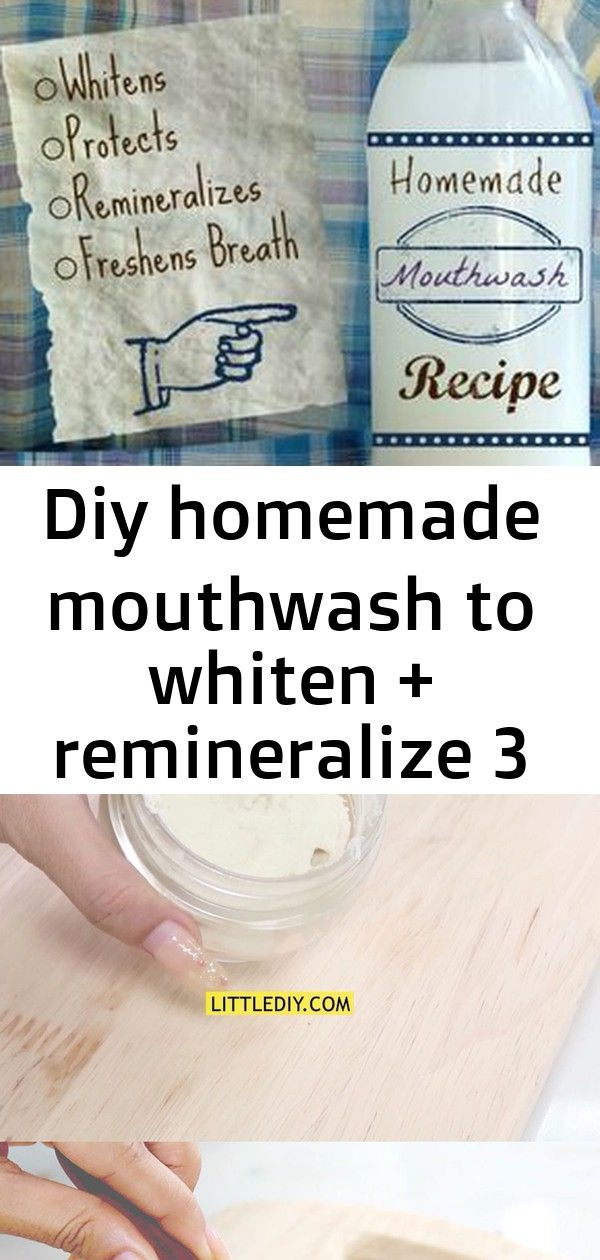 Diy homemade mouthwash to whiten  remineralize 3 Homemade Mouthwash Recipe  Whitens and Remineralizes Teeth  The Nourished Life Click READ IT below for full recipe This a...