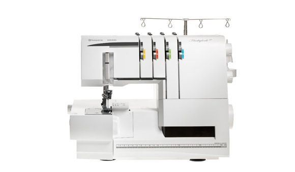HUSKYLOCK™ S40 Ease Of Use In Combination With Large Sewing Space Amazing Sewing Machine Serger Combo