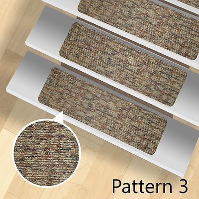 13 Stair Treads Carpet Rugs Indoor And Outdoor Use Stair Treads