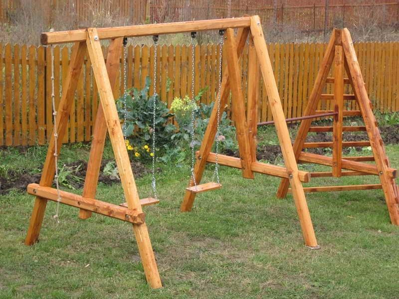 Outdoor A Frame Swing Set Plans Swing Set Plans For Home Decor