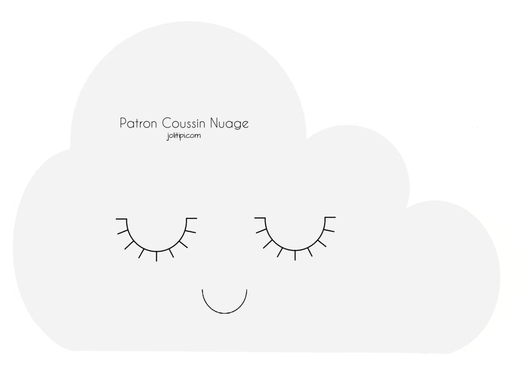DIY : Fabriquer un coussin nuage (patron gratuit | manualidades ...