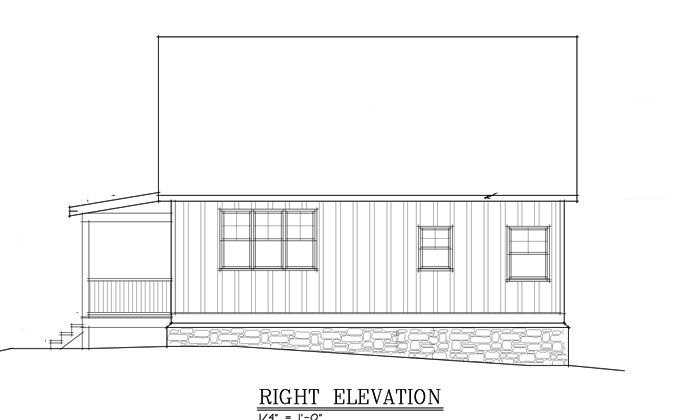 Small Cabin Plan With Loft Small Cabin House Plans Small Cabin Plan Cabin Homes Small Cabin Plans With Loft