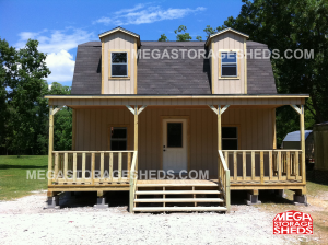 16x16x18 Barn 2 Story Cabin Starting At 14 570 00 Built On Site Price Is For The Shell Only No Finished Interi Shed Homes Shed Cabin Custom Built Cabins