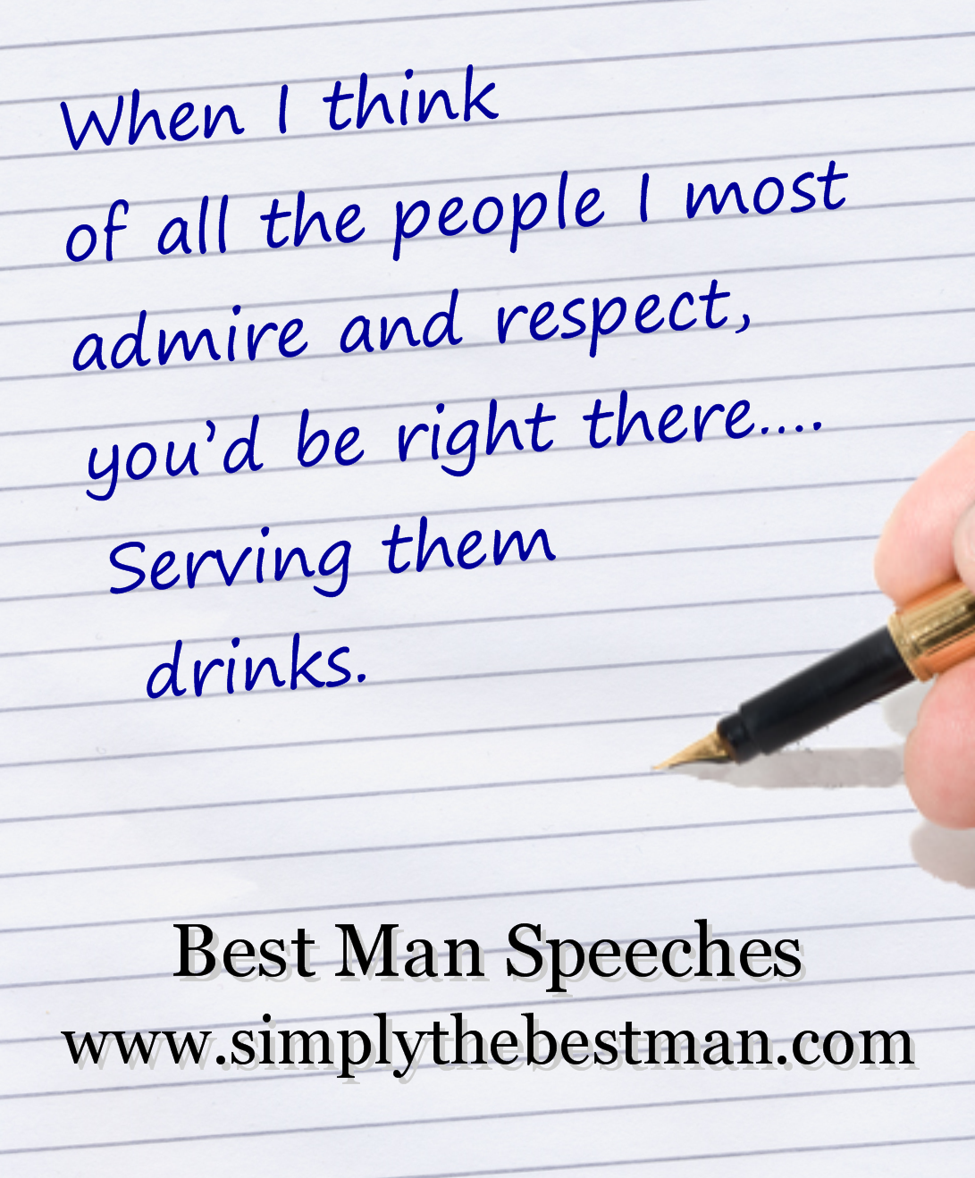 Wedding Speeches From Simply The Best Man