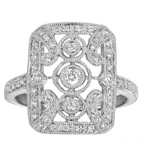 Gorgeous #Antique Style #Diamond Ring
