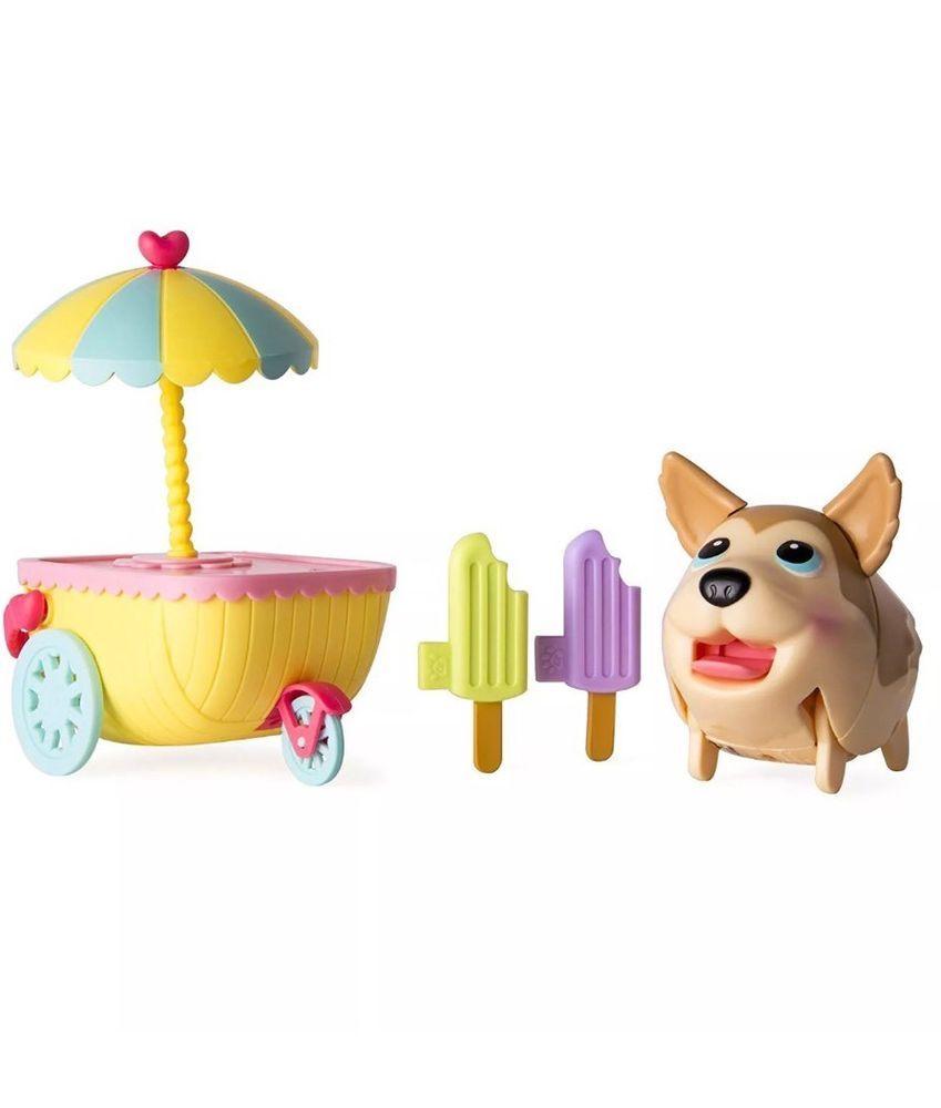 Chubby Puppies Friends Husky Ice Cream Cart Chubby Puppies Puppy