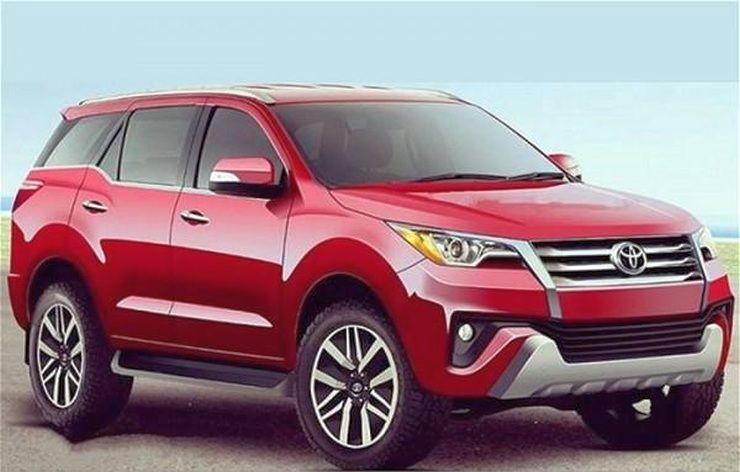 New Generation Toyota Fortuner 2016 Camionetas Toyota Rines De