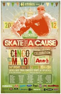 Sheckler's 3rd Annual Skate For A Cause May 5