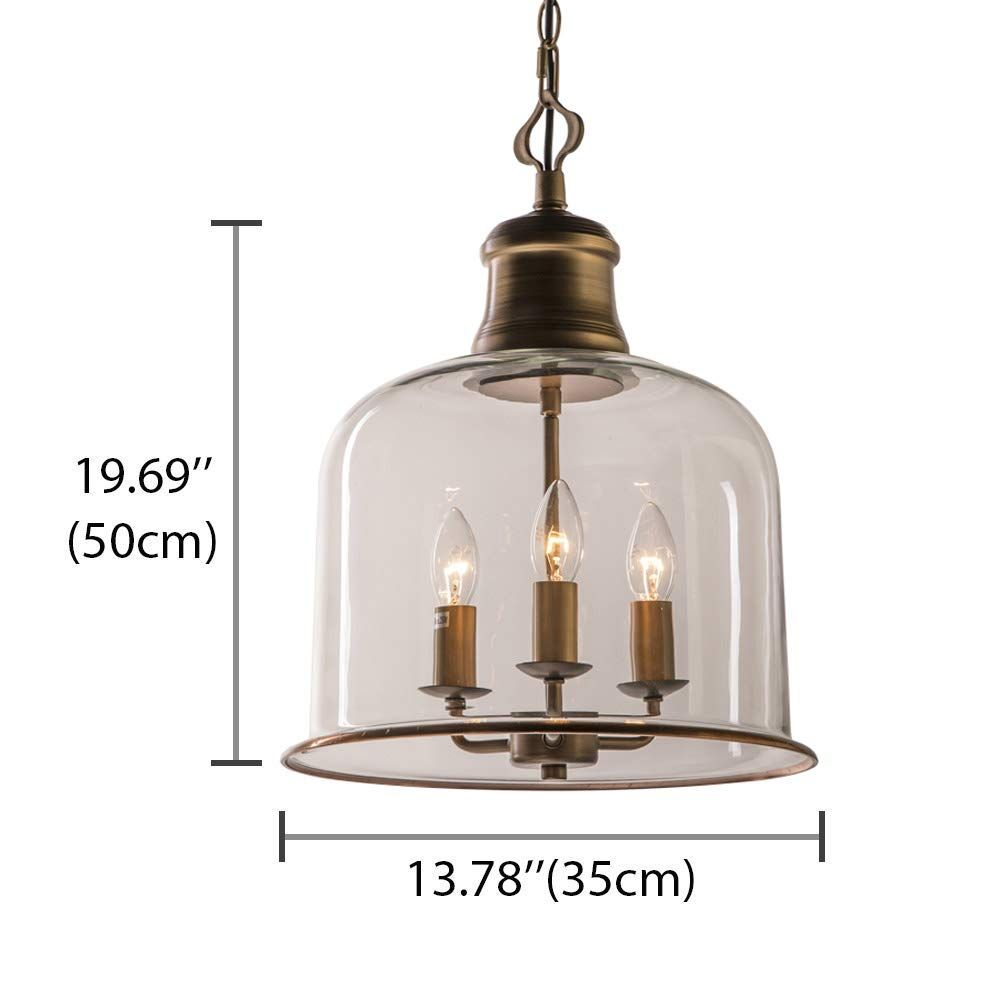 Litfad Pendant Traditional Industrial Chandelier In 2020 Glass Ceiling Lights Pendant Light Fixtures Industrial Chandelier