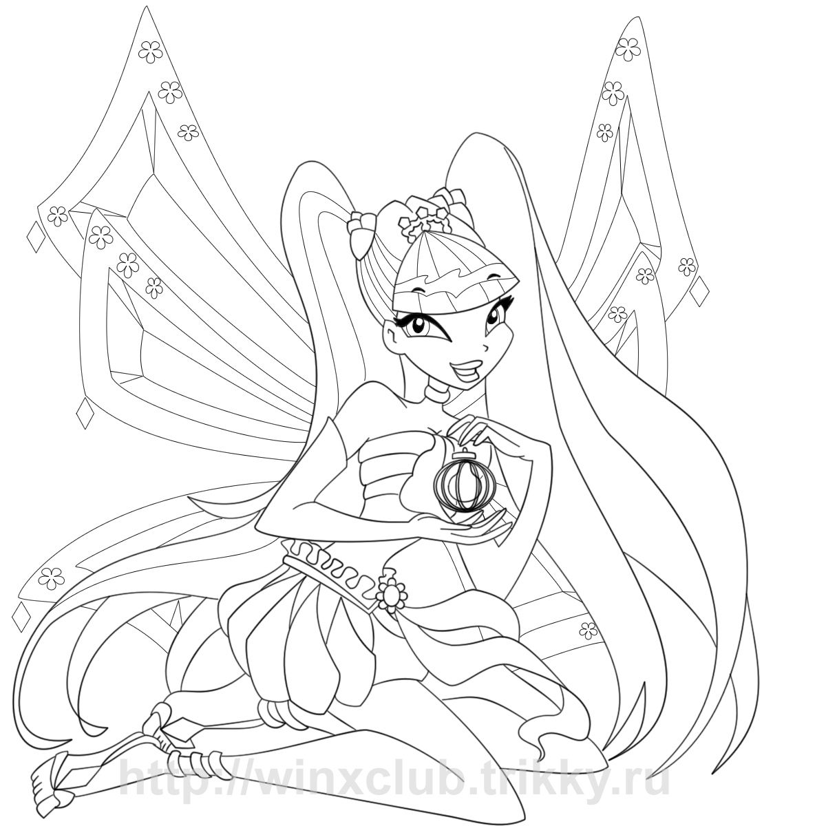 Cartoons Winx Club Coloring Pages Printable | coloring ...
