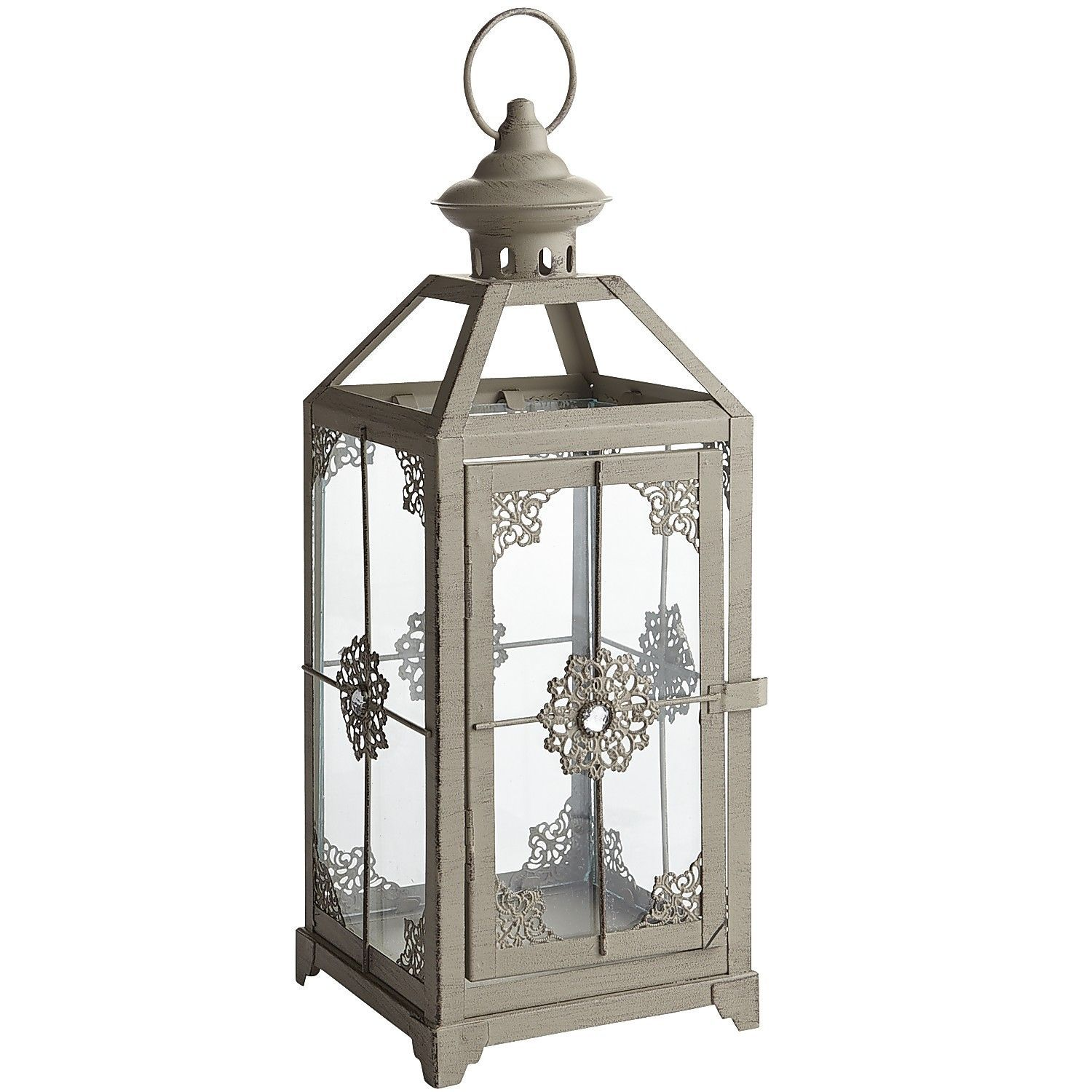 Medium Jeweled Lantern - Gray | Wedding Rehearsal Dinner | Pinterest ...