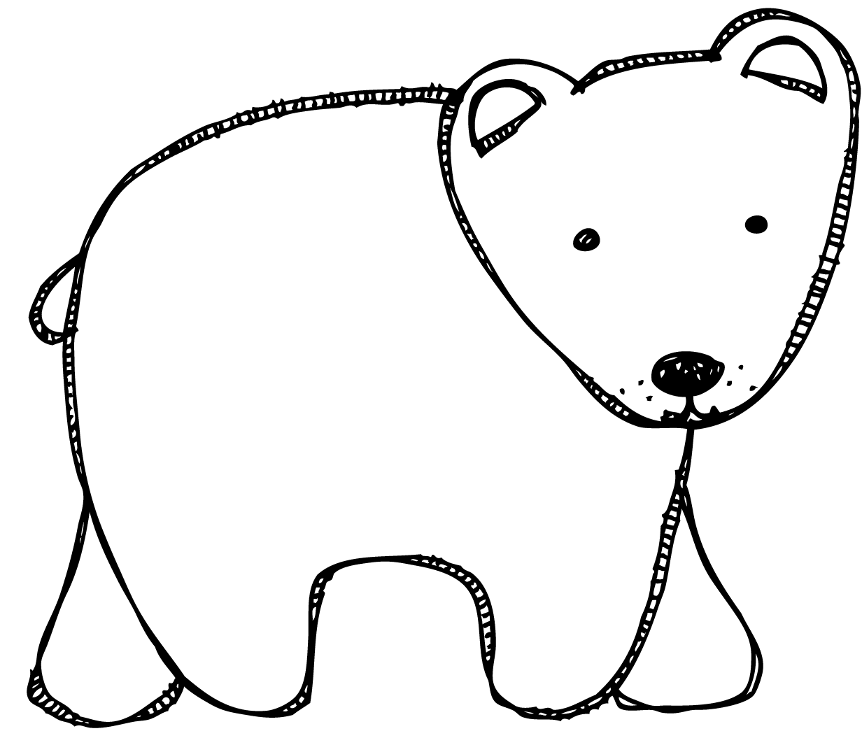 39++ Printable polar bear coloring pages info