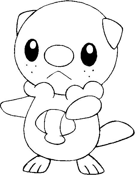 Oshawott Blue Pokemon Coloring Pages Pokemon Coloring Unicorn Coloring Pages