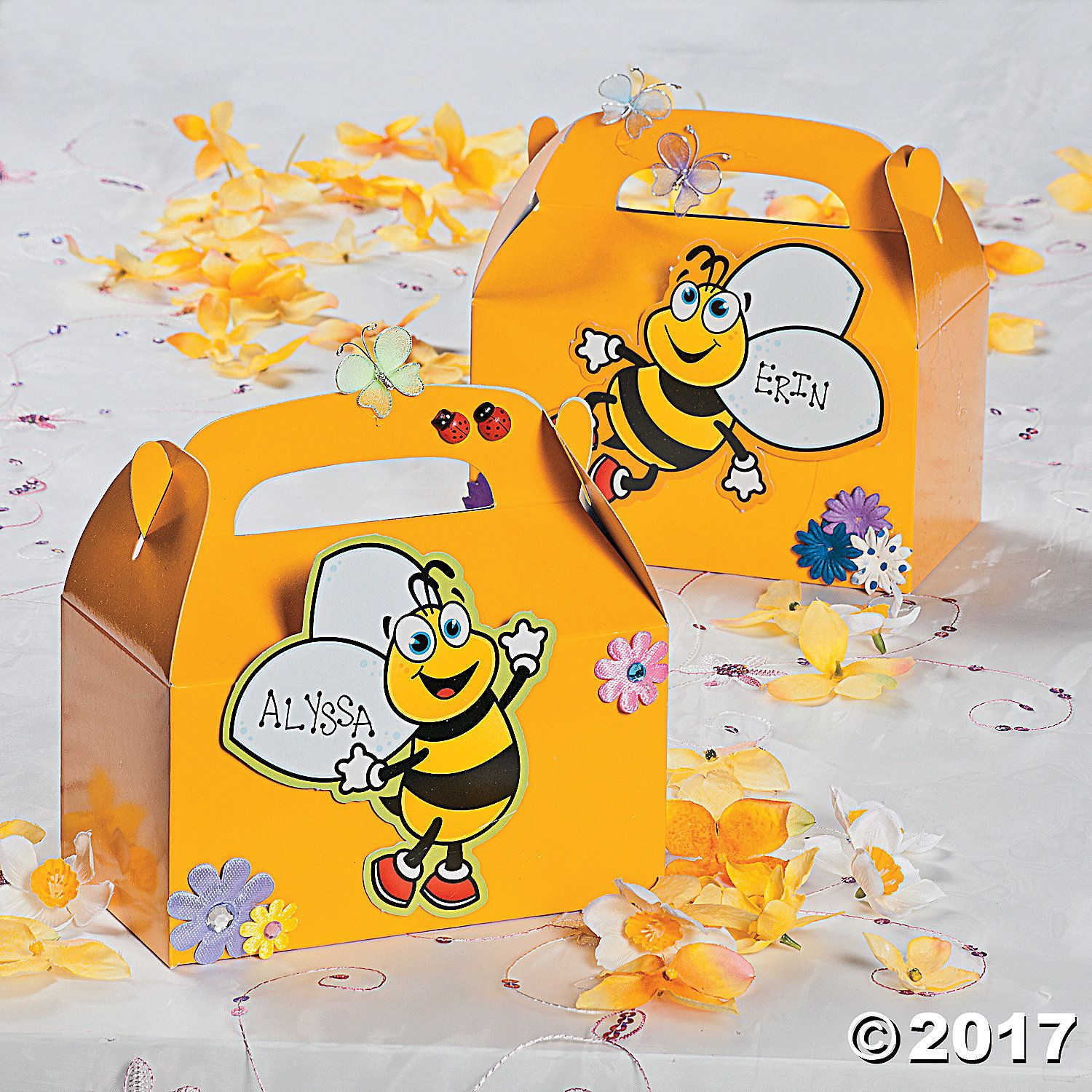 24 x Busy Bee Bumble Bee Yellow /& Black Pencil /& Erasers Class Gifts Party Bags