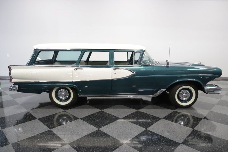 1958 Edsel Villager Wagon For Sale Allcollectorcars Com In 2020 Wagons For Sale Edsel Wagon