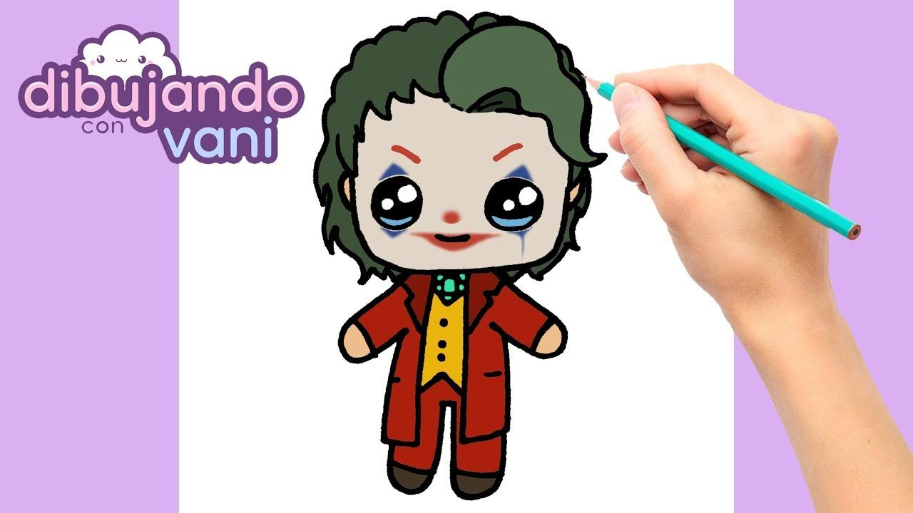 Como Dibujar Joker Paso A Paso Dibujos Para Dibujar Dibujos