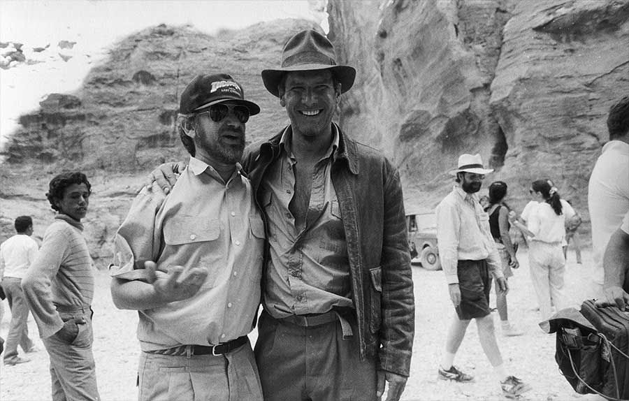 Steven Spielberg and Harrison Ford | Rare, weird & awesome celebrity photos