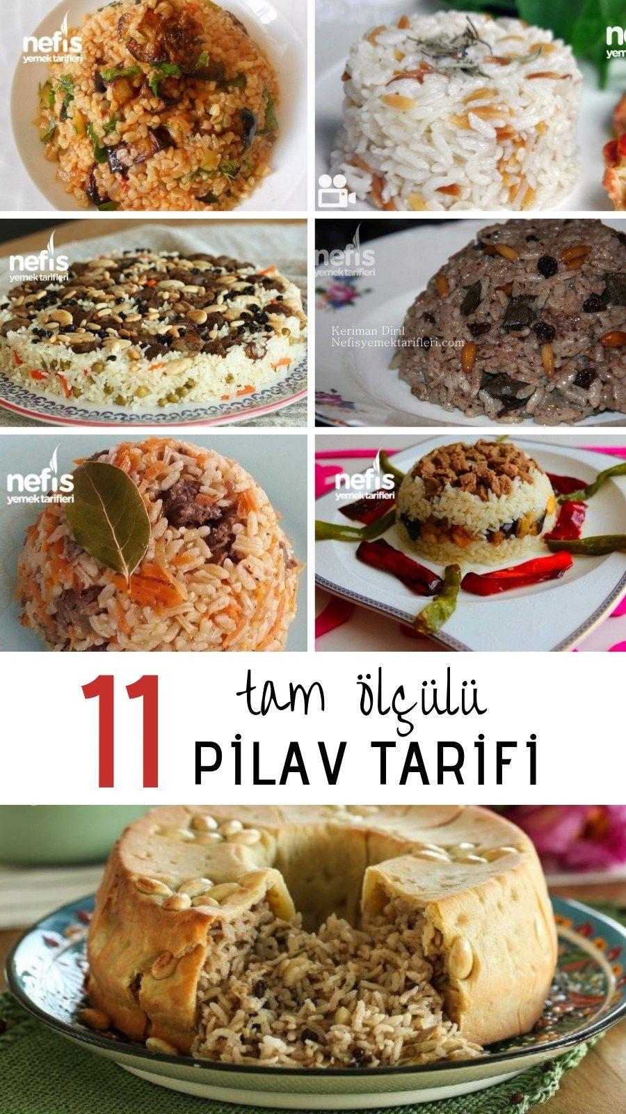 İftar İçin Tam Ölçülü 11 Farklı Pilav Tarifi - Nefis Yemek Tarifleri