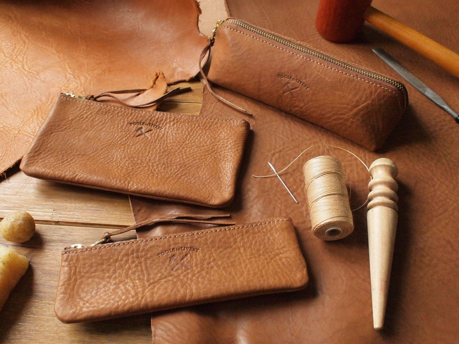 TTLB 手工皮革筆袋系列 - 禮拜記事 | TOOLS to LIVEBY / 禮拜文房具 - 改變桌上的風景