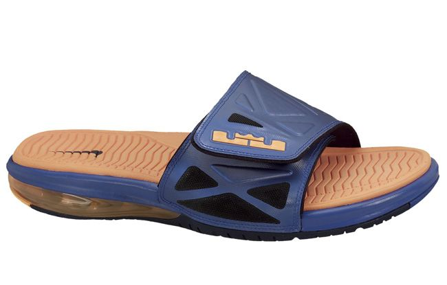 Nike Air Lebron 2 Slide Elite | Blue \u0026 Orange