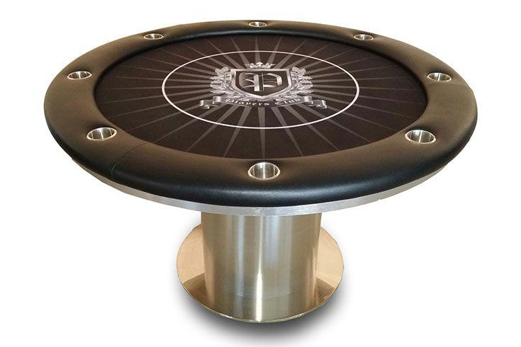 Arched Pedestal Bases, Custom Felt W/ Betting Line | Texas Holdem Custom  Poker Tables | Pinterest | Custom Poker Tables, Poker Table And Custom Poker  Chips