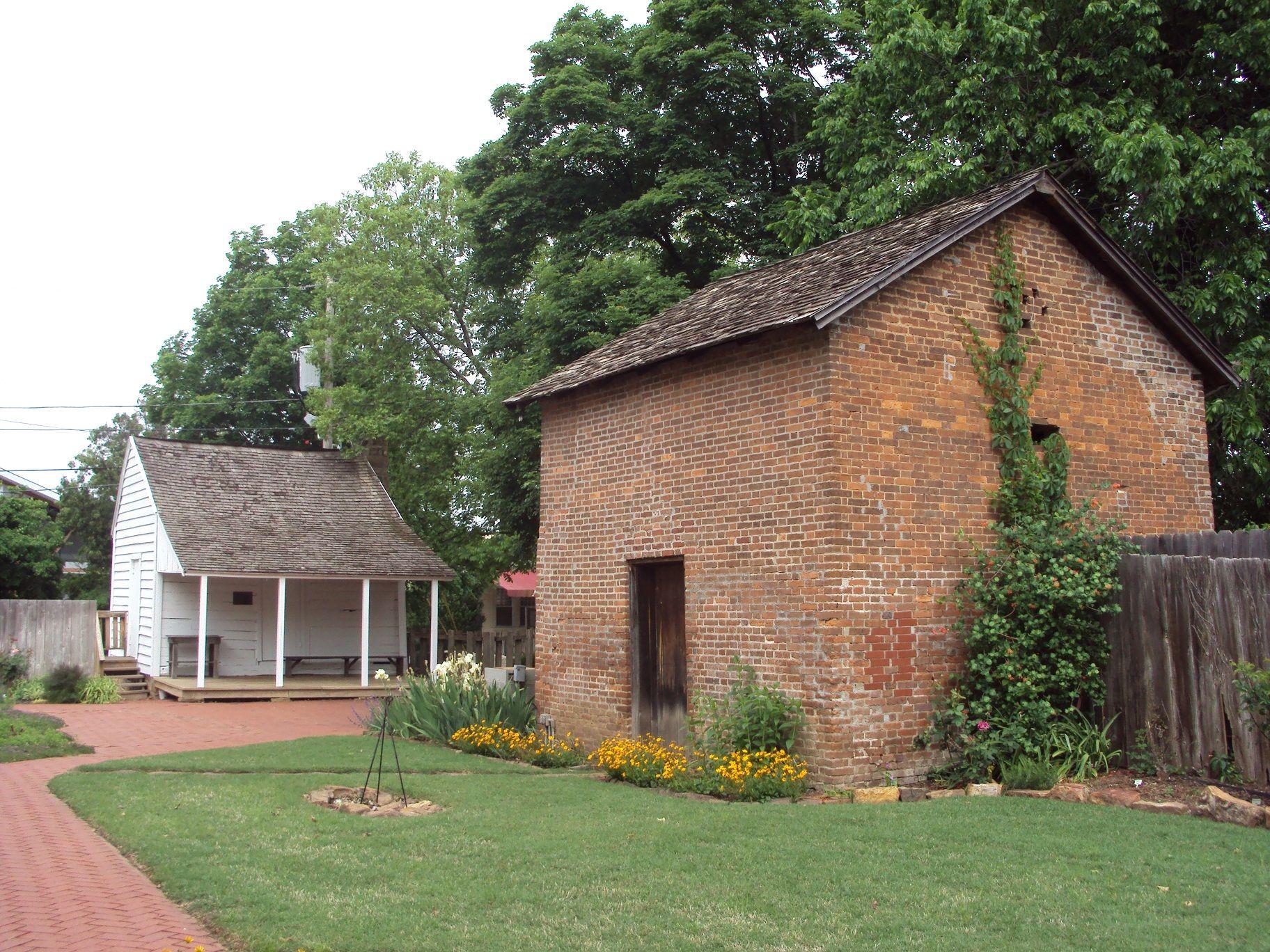 """Headquarters House"", Fayetteville, Arkansas American"