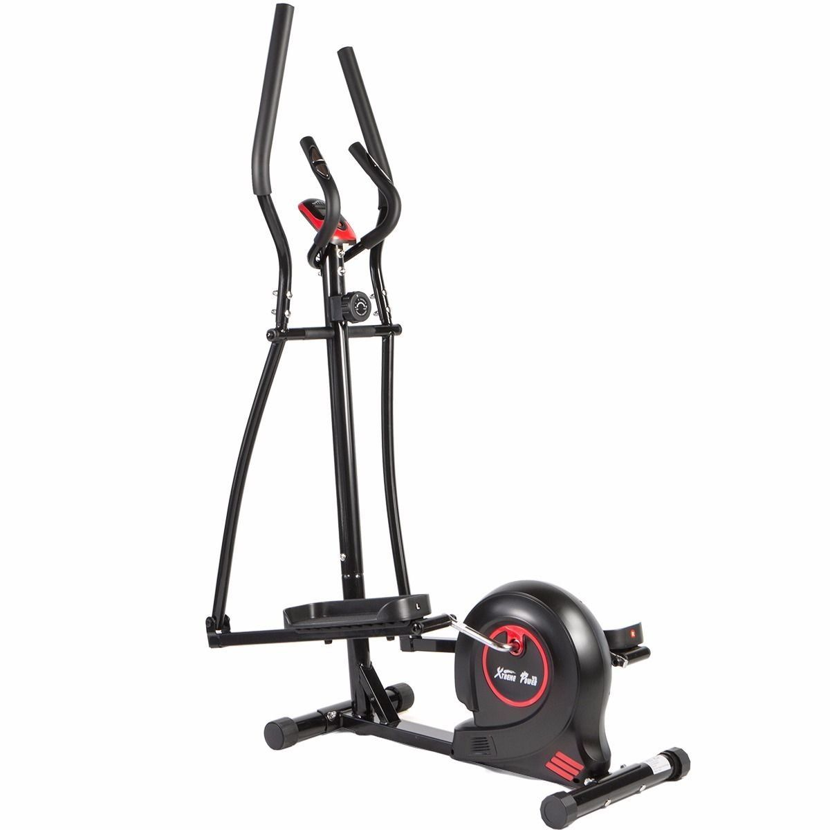 Magnetic Elliptical Bike Health Trainer Fitness Machine Cardio