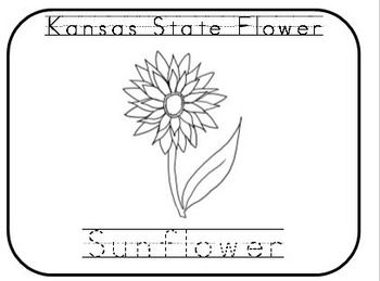 Kansas Day Coloring Pages With Traceable Words Free Kansas Day