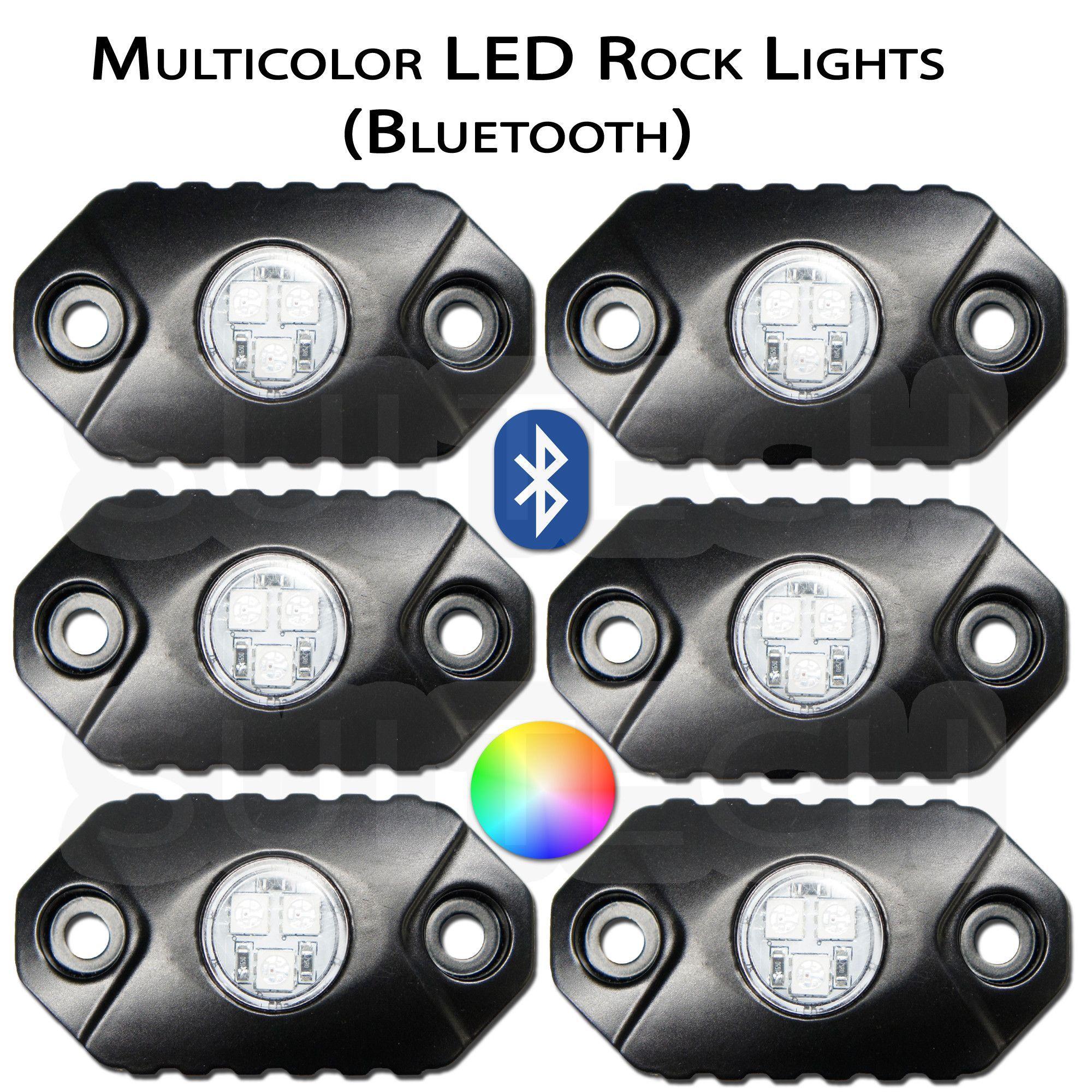 Multicolor Sui Rocks Worlds Toughest LED Rock Lights Looking