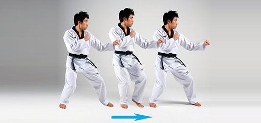Nae-ditgi (내딛기) Forward Step_World Taekwondo Headquarters
