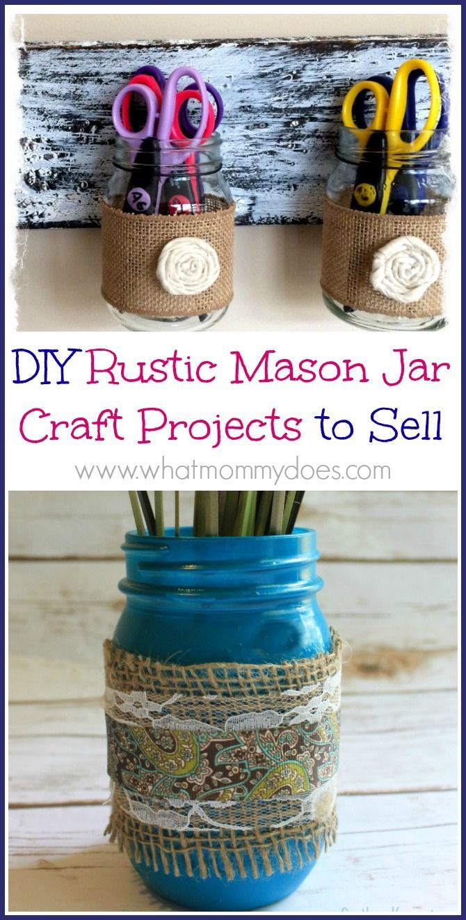 13 Mason Jar Crafts to Make & Sell for Extra Cash | Crafts ...