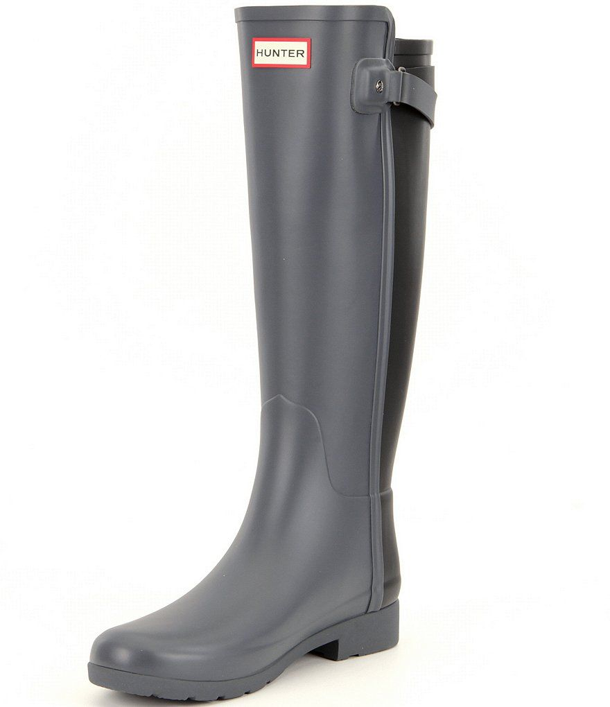 Shop for Hunter Original Refined Back Strap Rain Boots at Dillards.com. Visit Dillards.com to find clothing, accessories, shoes, cosmetics & more. The Style of Your Life.