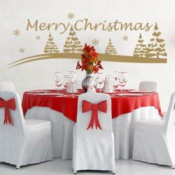 Muurstickers voor de kerst!