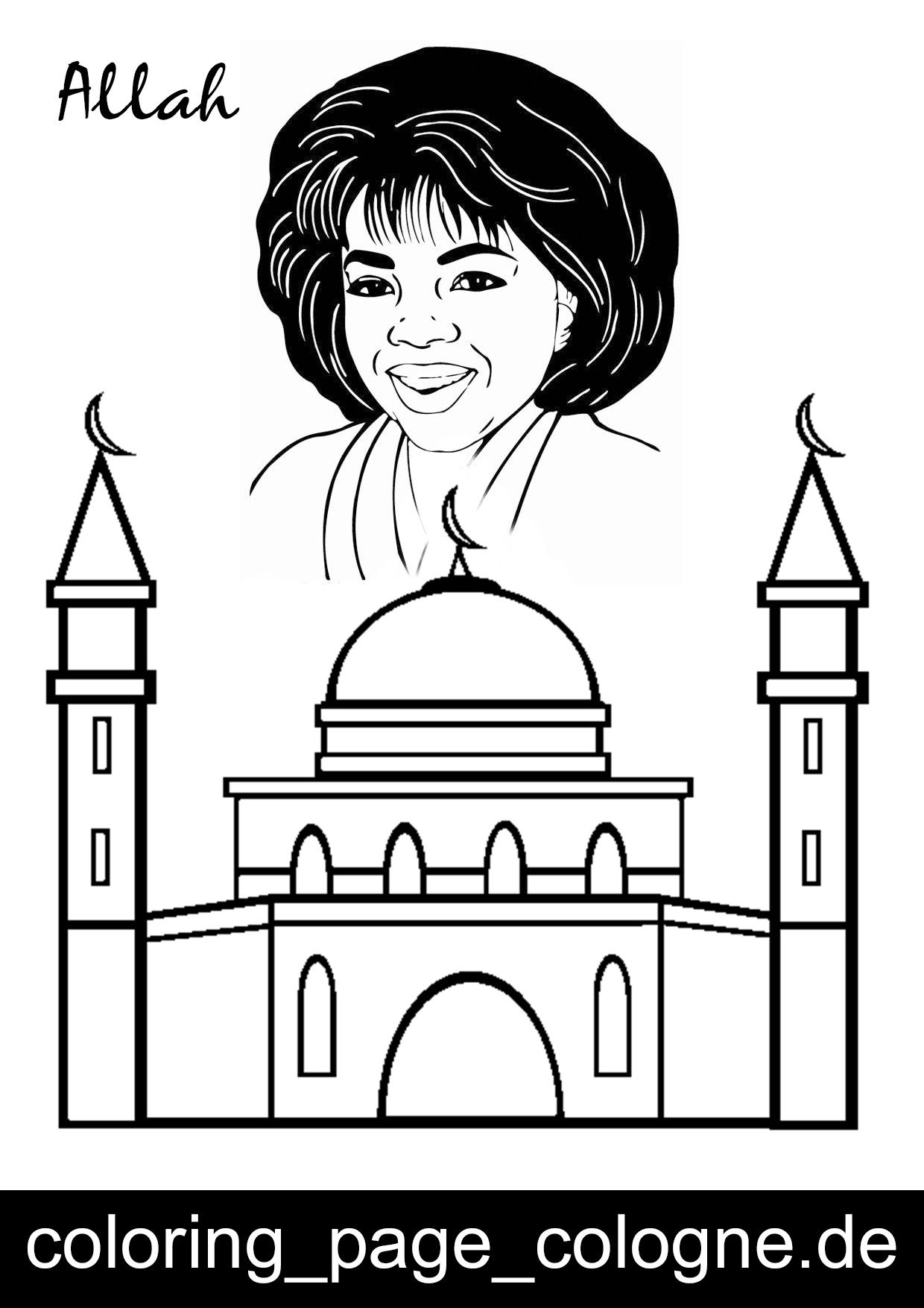 Coloring pages ramadan - Free Ramadan Coloring Pages Color In This Picture Of A Mosque And Others With Our Library Of Online Coloring Pages Save Them Send Them They Re Great For
