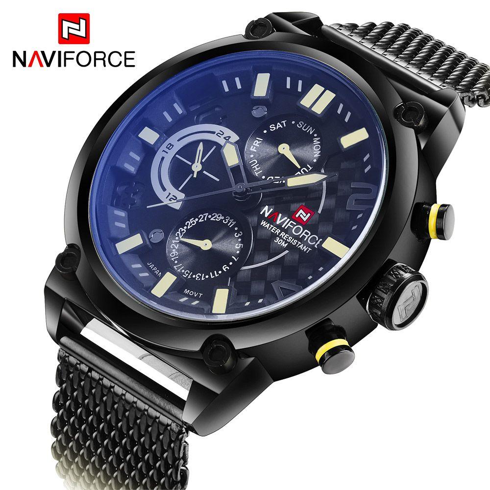 dda445cce23 US  279.90 - 2016 New Luxury Brand Men Full Steel Watches Men s Quartz 24  Hour Date · Cheap WatchesMens Sport WatchesMen WatchWrist ...