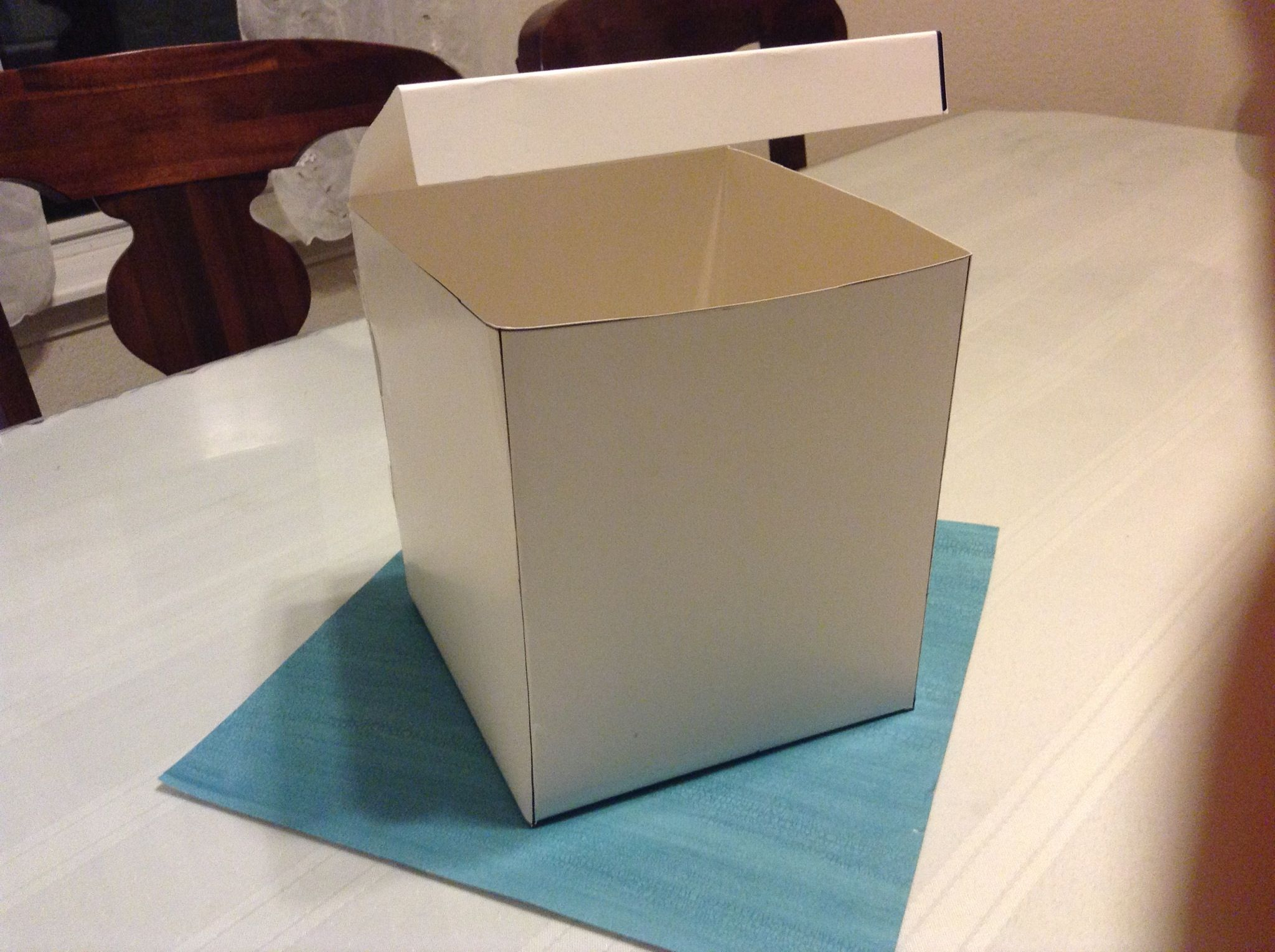 How To Make A Cube From Poster Board Poster Board Paper Cube How To Make Box