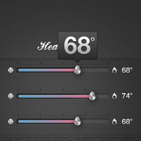 Home automation app << great sliders