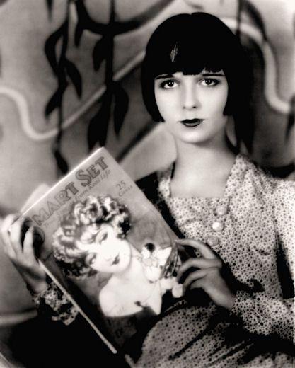 Louise #Brooks - #fashion icon of the #silent movie era