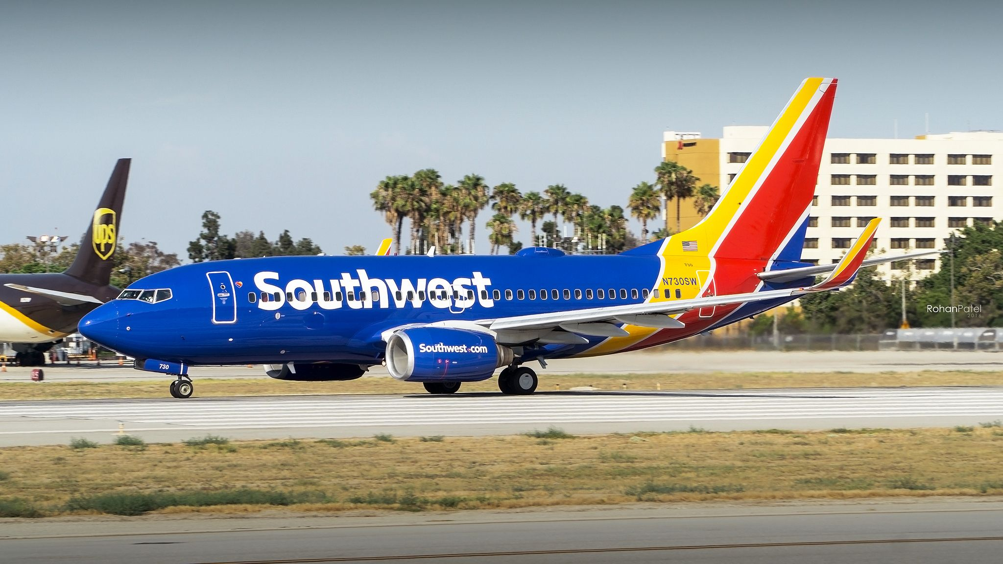 Southwest 737 New Livery Departure Air Long