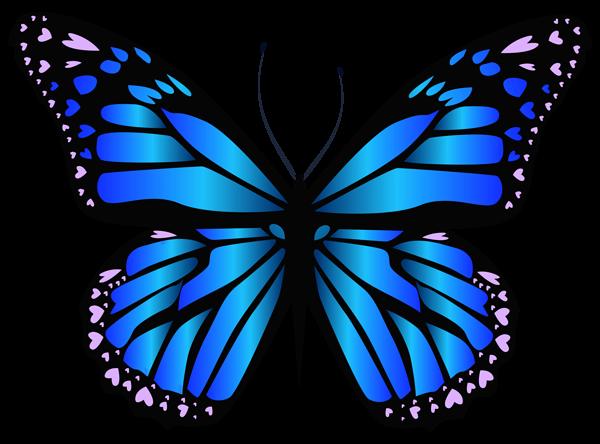 Blue Butterfly Png Clipar Image Purple Butterfly Tattoo Butterfly Clip Art Butterfly Tattoo
