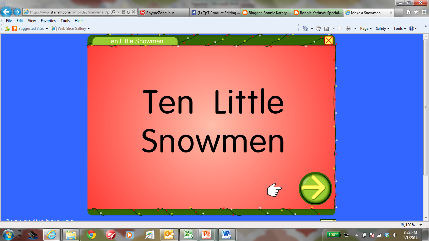 Starfall Has A Great Little Game Where Students Learn The