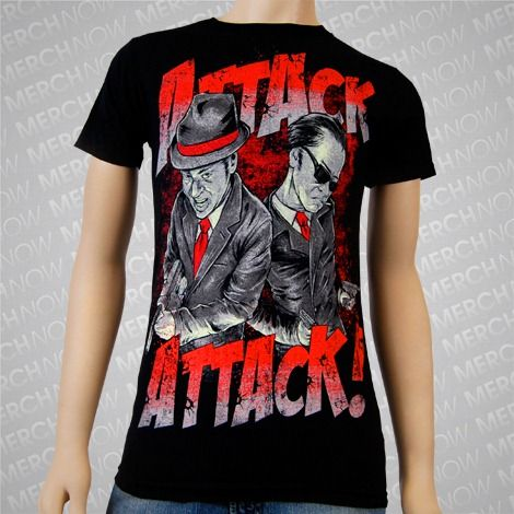 Attack Attack!- Mobsters Black