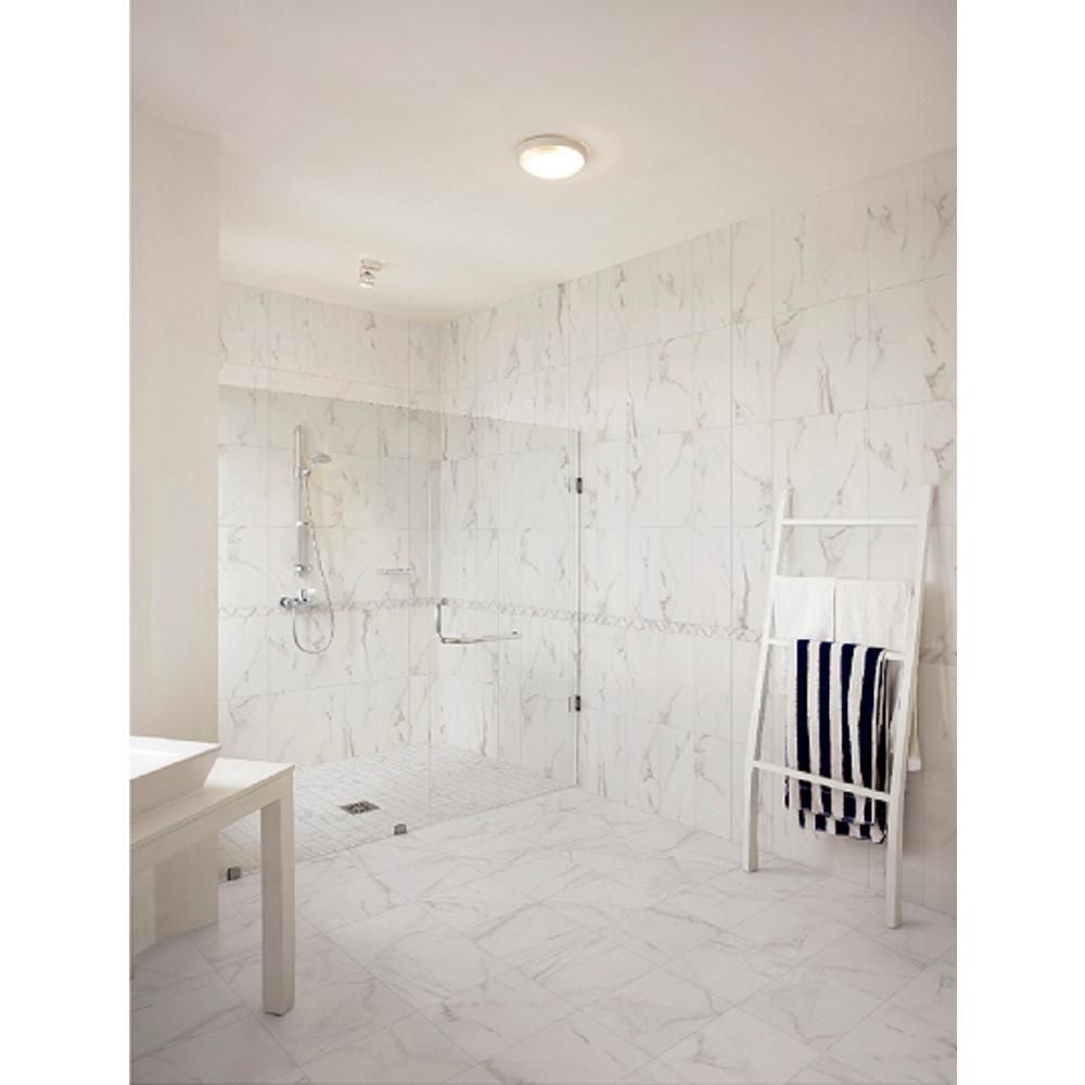 Florida Tile Home Collection Michelangelo White 12 in. x 12 in ...